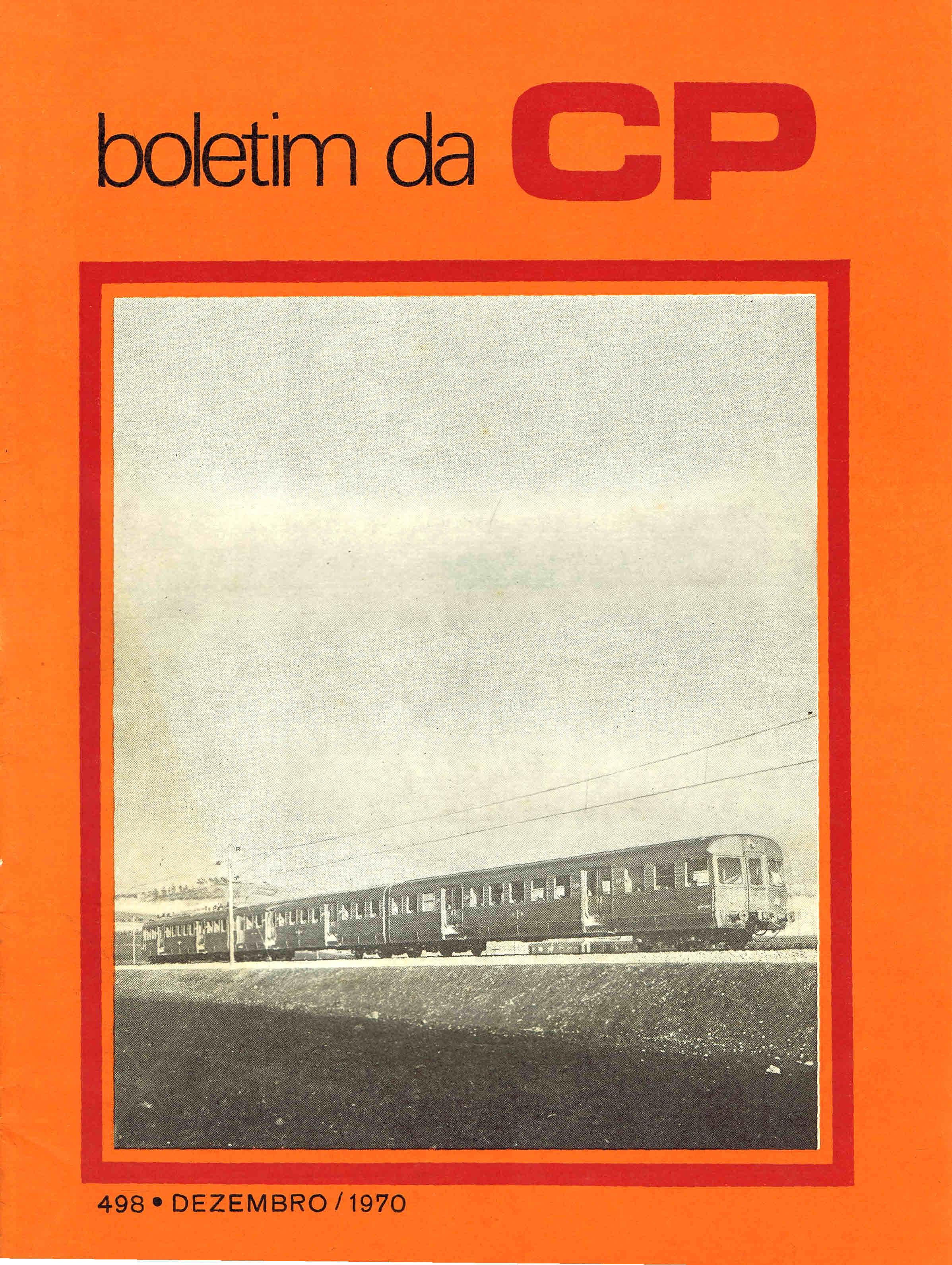 boletim da cp nº 498 dezembro 1970