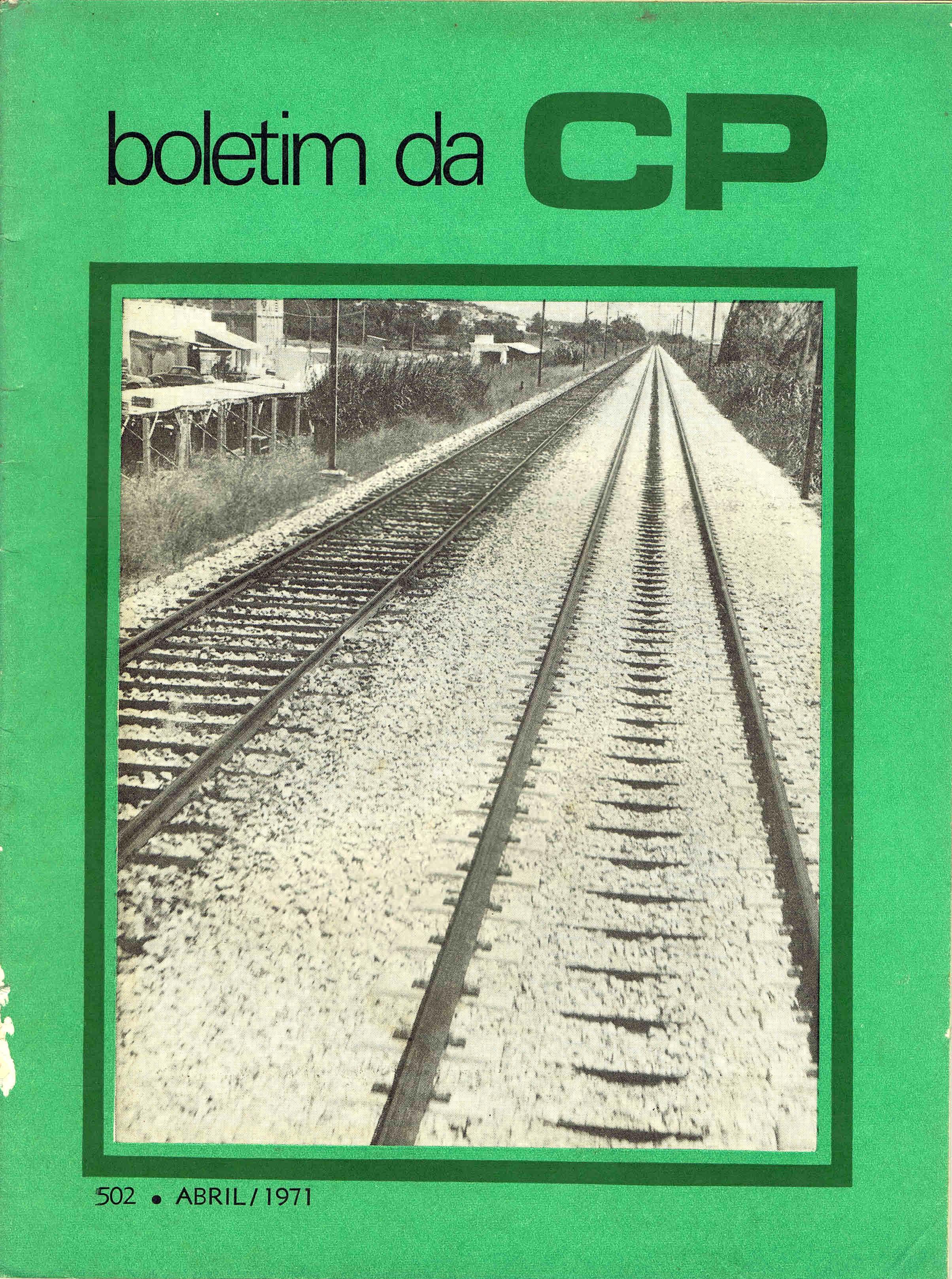 boletim da cp nº 502 abril 1971