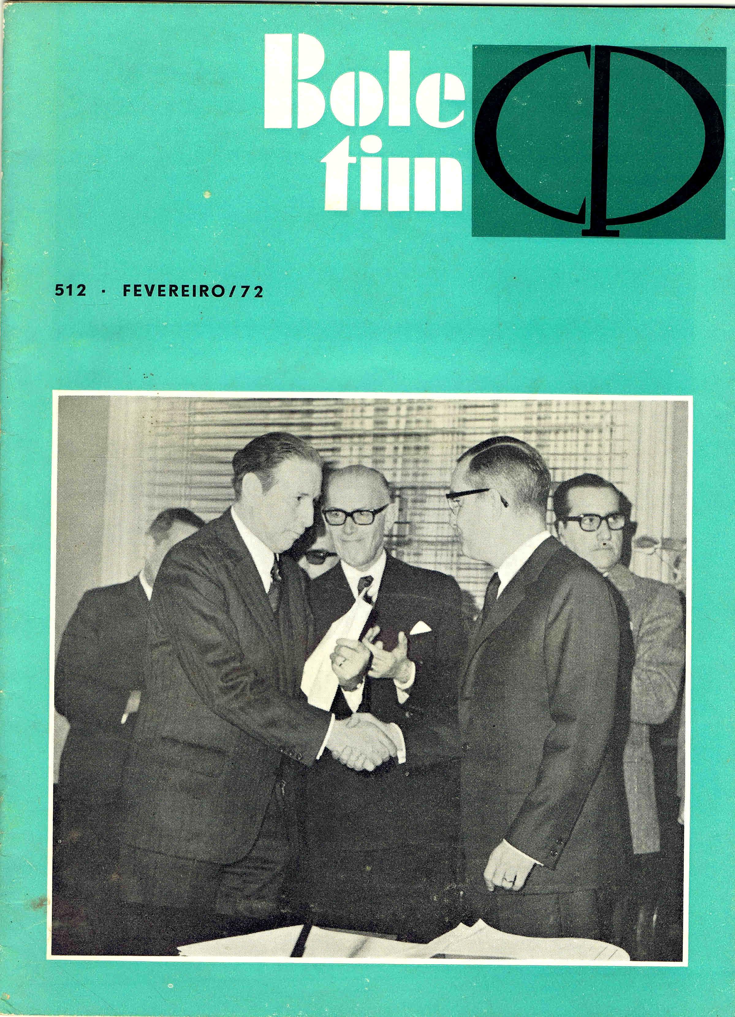 boletim da cp nº 512 fevereiro 1972