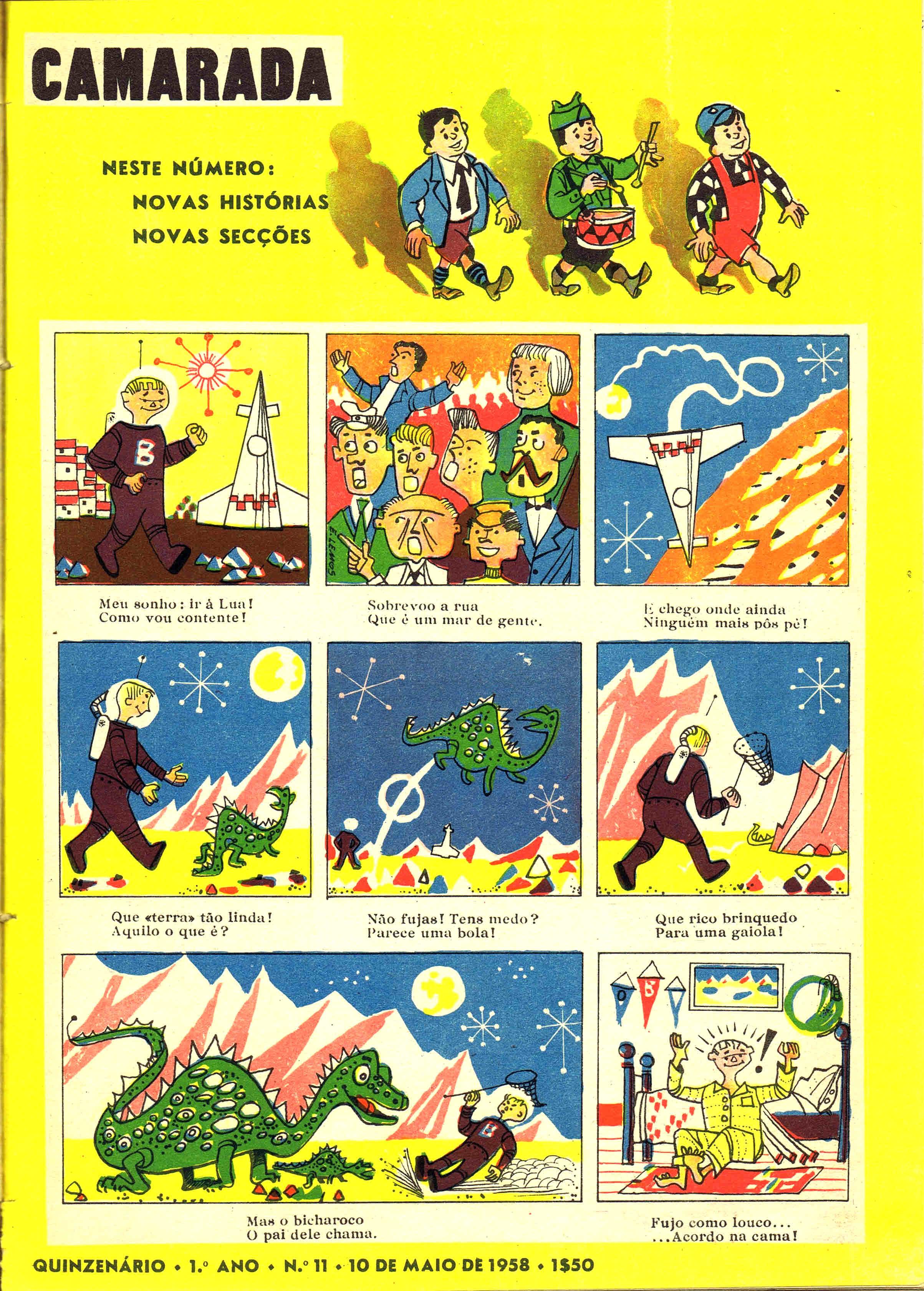 camarada mocidade portuguesa nº 11 1958