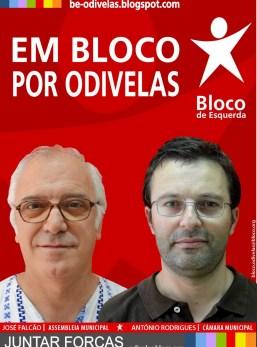 cartaz Odivelas Bloco