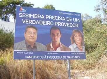 Autarquicas Sesimbra 2009  PSD_