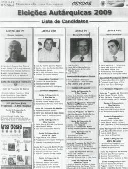 CANDIDATOS ÓBIDOS