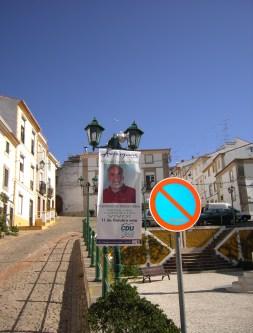 Castelo de Vide Pendão da CDU Assembleia Municipal