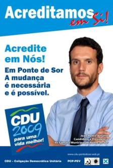 CDU Autárquicas 2009 Ponte de Sor 00