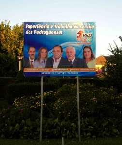 Pedrogão Grande - PSD - OUTDOOR 01