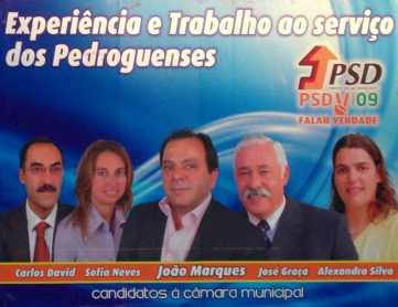 Pedrogão Grande - PSD - OUTDOOR 02