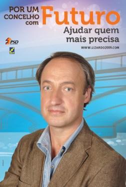 PSD Cartaz Presidente