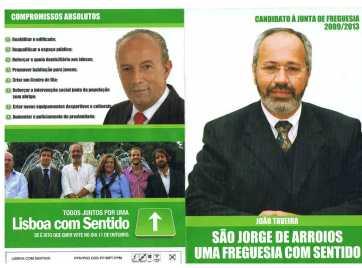 PSD, Lisboa, São Jorge de Arroios1