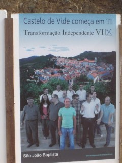 Transformação Independente de Castelo de Vide Acção de Campanha no Conc. de Castelo de Vide Cartazes 2