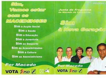 PSD CDS - AUTÁRTICAS 2009