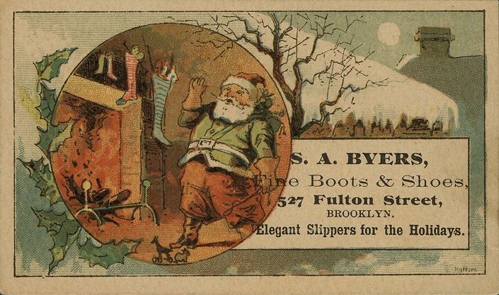 Christmas Ads For Long Gone Brooklyn Businesses