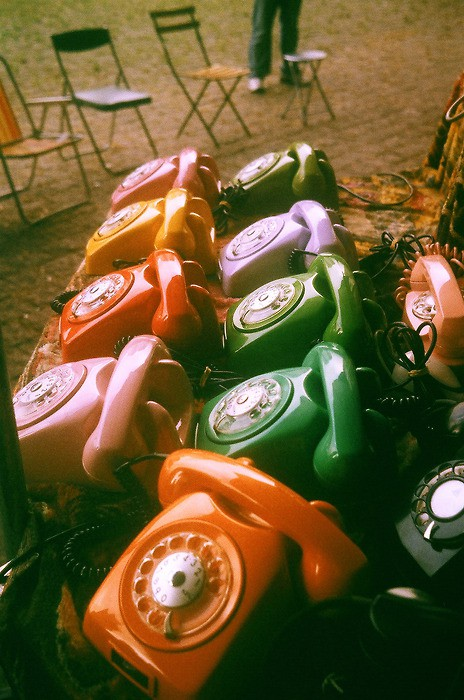 ~ Collections ~ Vintage Telephones