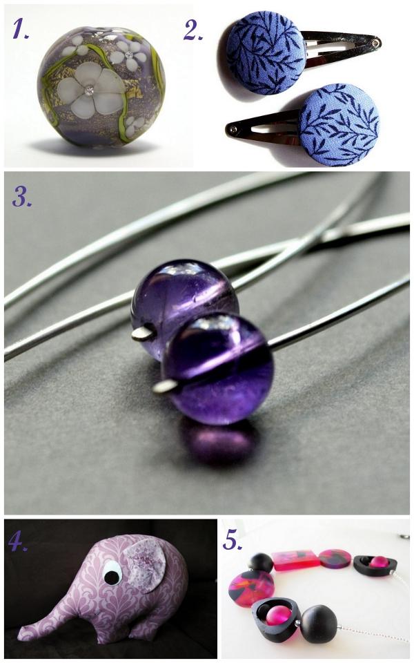 ~ Browsing the Bazaar ~ Shades of Purple