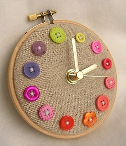 Shall I make a button clock?