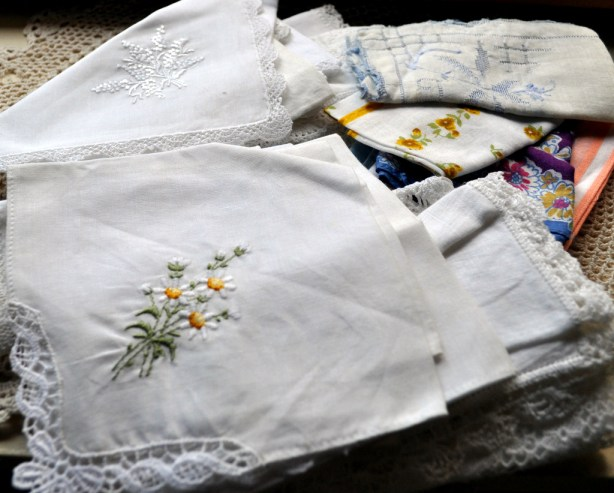 Tuesday Tute ~ Vintage Handkerchief Ideas