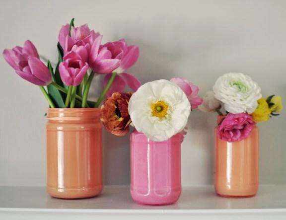 DIY ~ Painted Mason Jar Round-up!