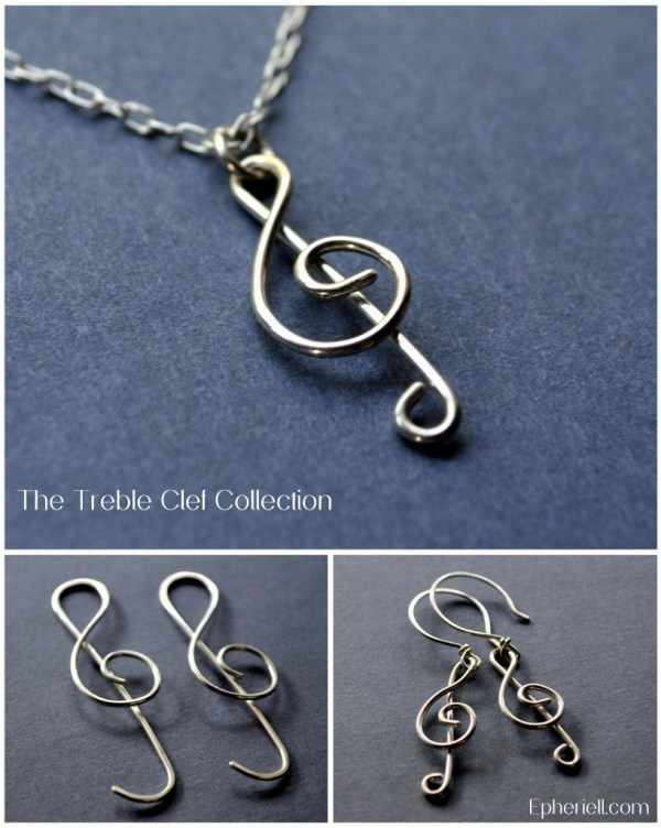 Music for your Ears… and your Neck… the new Treble Clef Designs