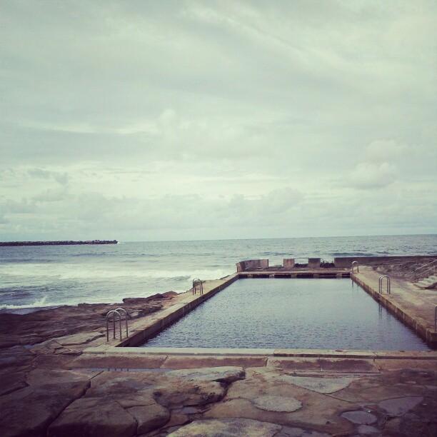 The ocean pool at Yamba