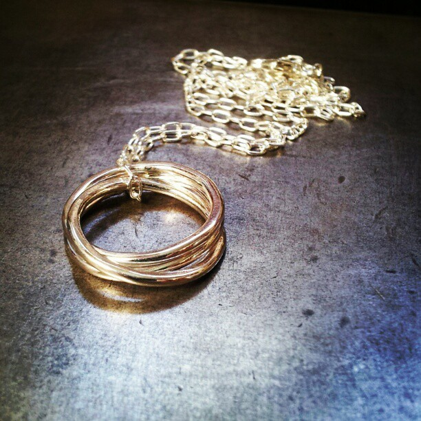 nested necklace