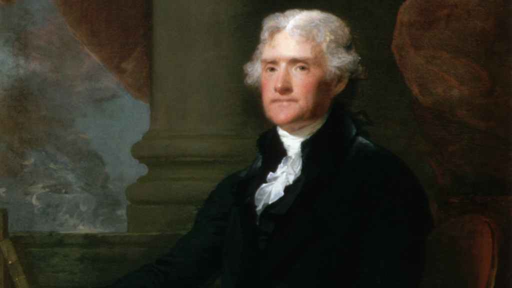 Thomas Jefferson's White America