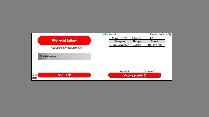 Whirlwind battery