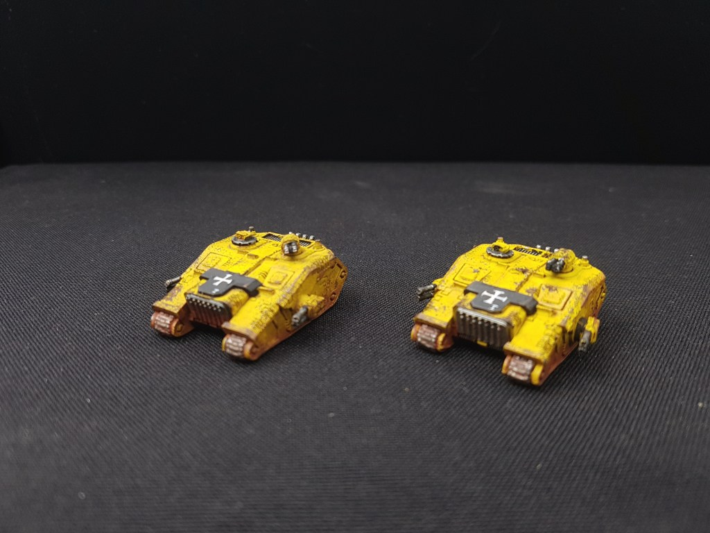 Land Raider Epic Space Marine Imperial Fist Vanguard Miniatures