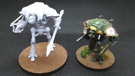 Cerastus Knight para imprimir en 3D