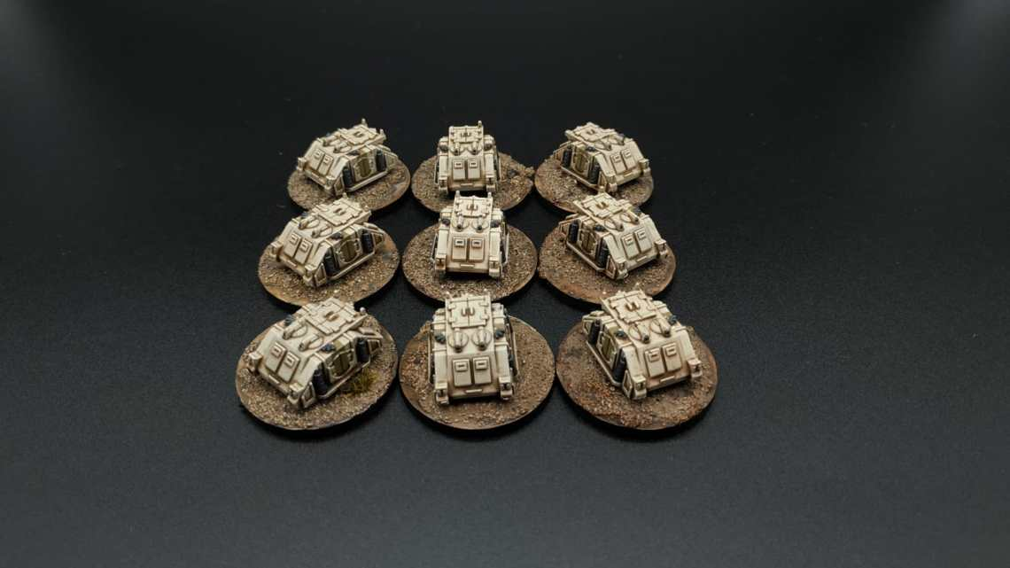 epic rhino death guard space marine