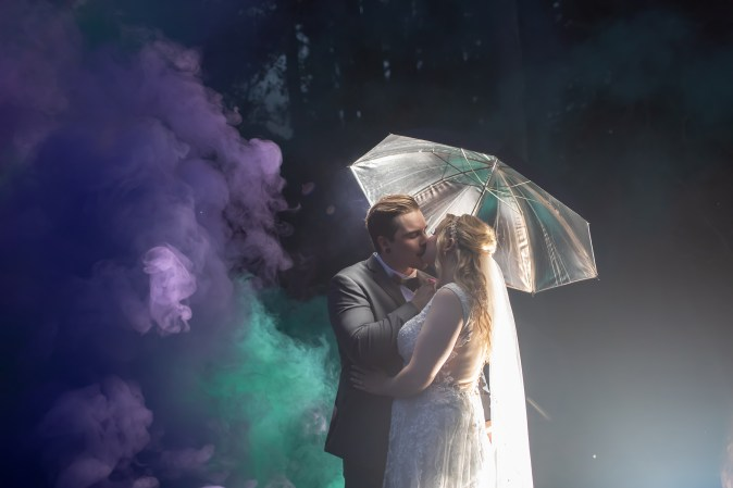 Virginia Beach Wedding Photographer, Virginia Beach Photographer, Epic Beard Photography, Smoke Bomb Wedding Photography