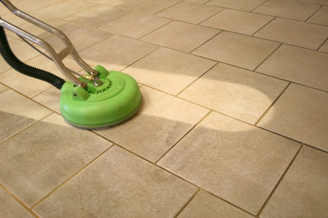 Floor Tile cleaner & Grout Cleaning – Deep Scrubbing