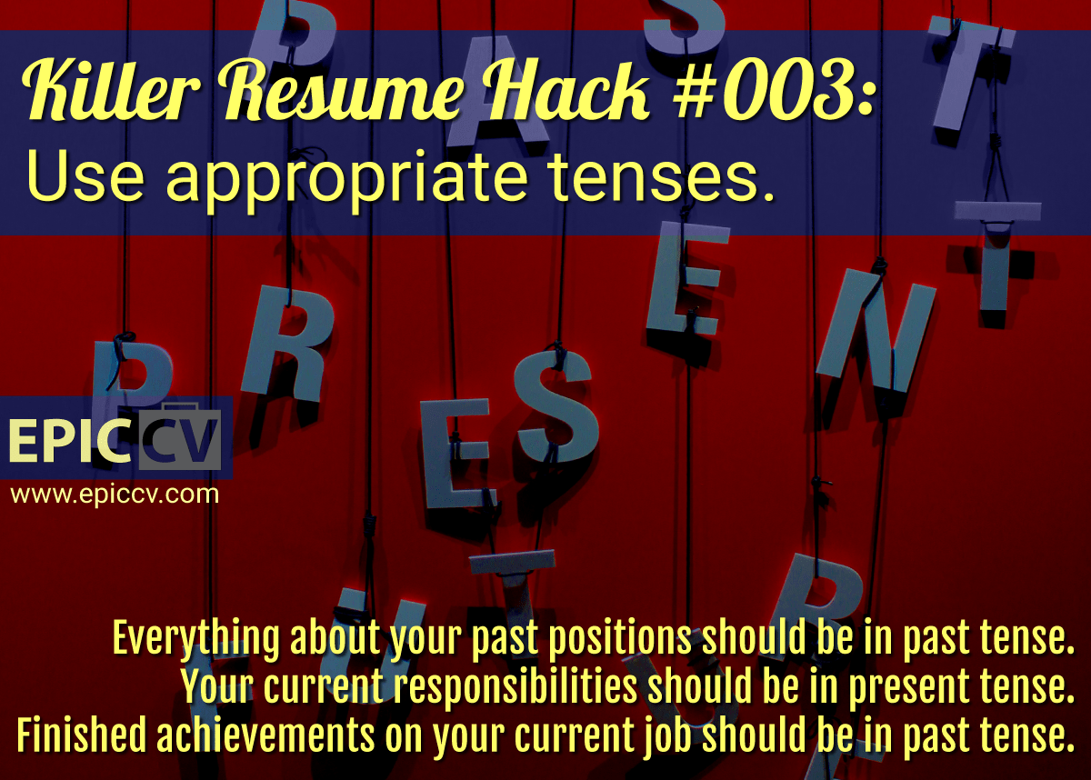 Killer Resume Hacks