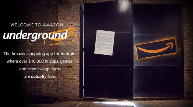 Amazon Underground Header