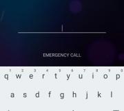 Android Password Lockscreen