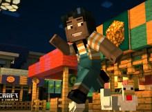Minecraft: Story Mode Jump