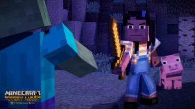 Minecraft: Story Mode Zombie Battle