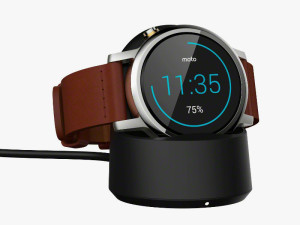 Moto 360 (2nd Gen) With Charger