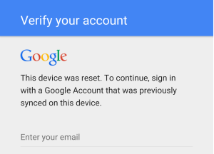RootJunky.com - Factory Reset Protection