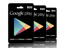 Google Play Store - Gift Cards
