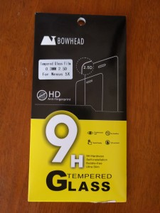 Bowhead Tempered Glass Screen Protector - Packaging