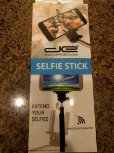DE Selfie Stick - Packaging