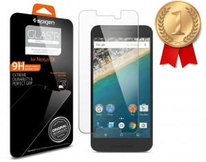 Spigen Tempered Glass Screen Protector - Gold Medal