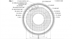 Sony Camera Contact Lens Patent