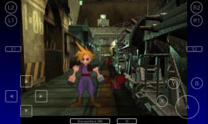 Final Fantasy 7 - Controller Overlay