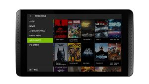 NVIDIA SHIELD Tablet - SHIELD Hub