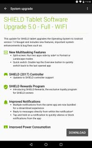 SHIELD Tablet - 5.0 Update