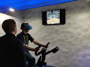 Nordic Trac VR Bike