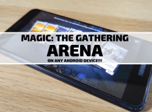 Magic: the Gathering Arena on Android!