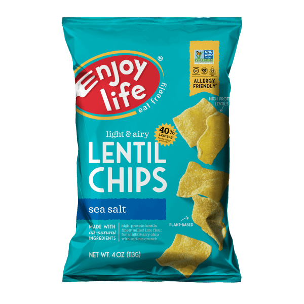 Enjoy Life Sea Salt Lentil Chips
