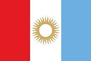 Bandera Córdoba Argentina